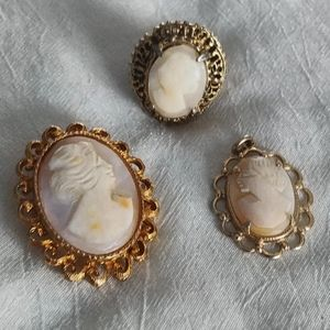 Bundle of Vintage Cameos